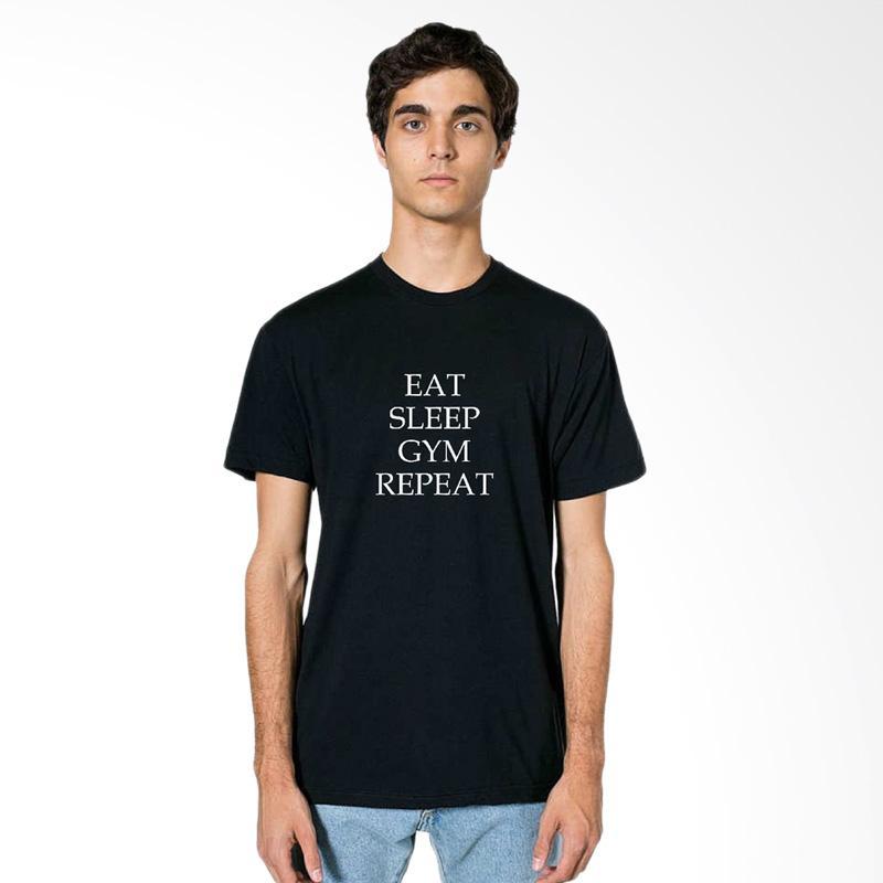 FRAW T-Shirt Kaos Pria - Black 29-17