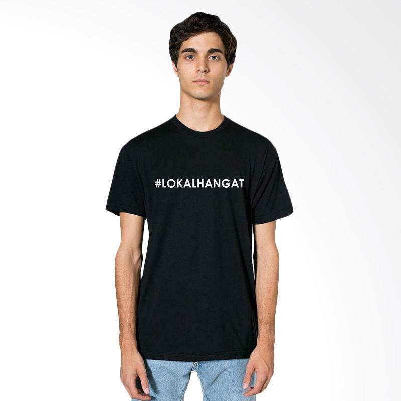 FRAW T-shirt Kaos Pria - Black 16-17