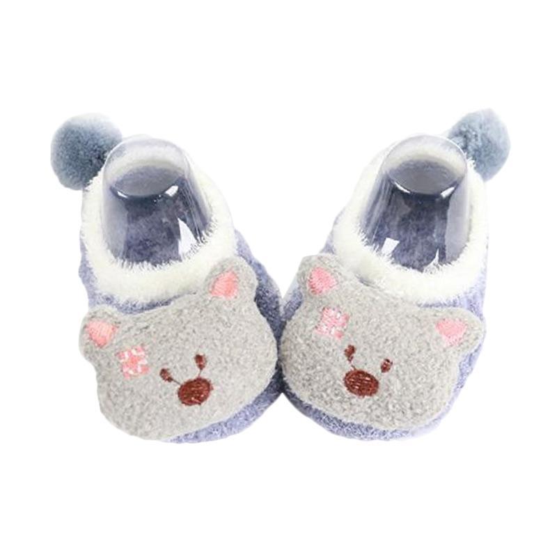 Chloebaby Shop S272 Boneka Bear Sepatu Prewalker Bayi - Grey