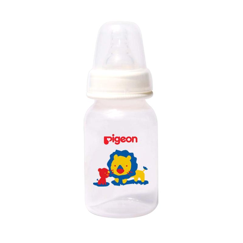Pigeon Slim Neck PP RP Bottle with Silicone S Nipple - Lion [120 mL]