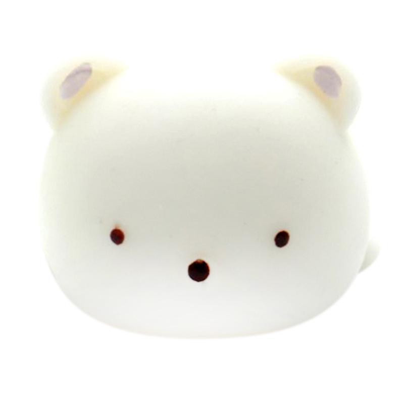 HAN MoniMoni Squishy Scented Original Korea Big Polar Bear Mainan Anak - Putih