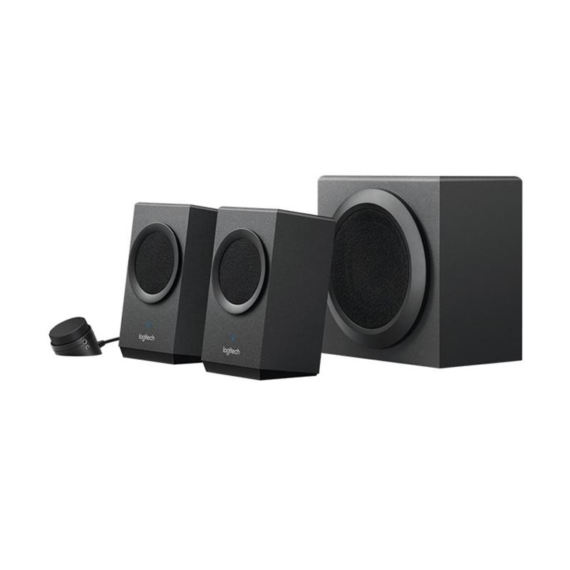 Logitech Z337 Bluetooth Streaming 2.1 PC Speakers with Subwoofer - Hitam