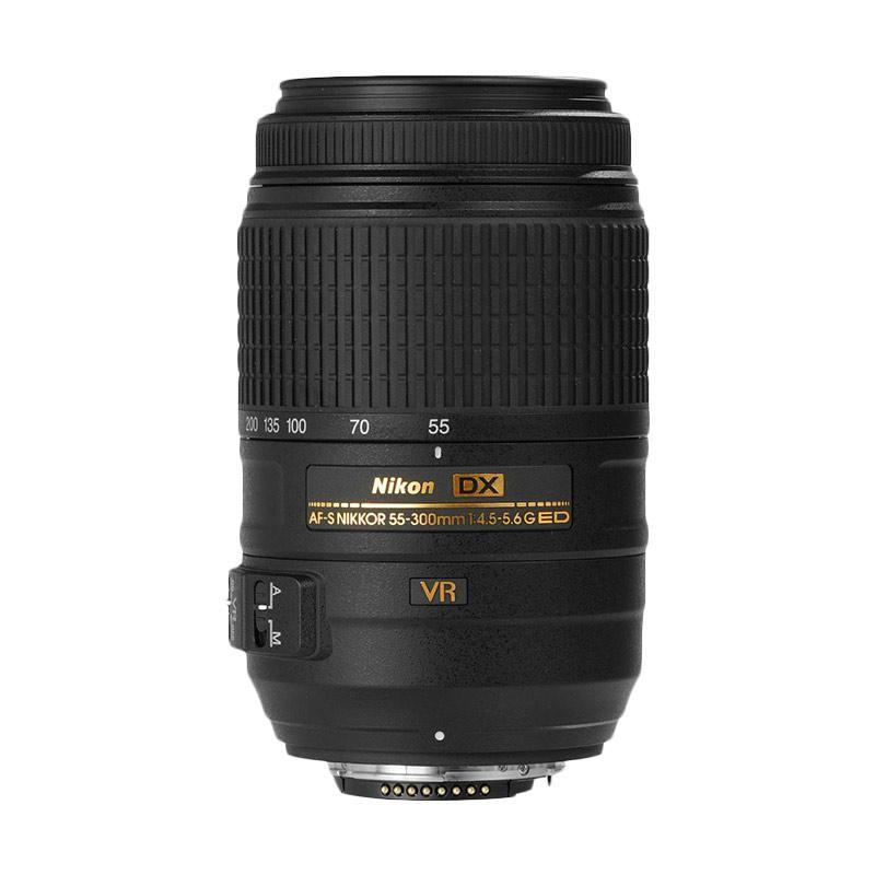 Nikon AF-S 55-300mm f 4.5-5.6G ED VR Lensa Kamera