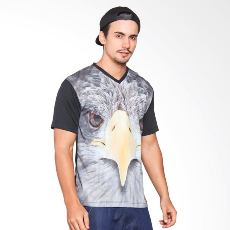 EpicMomo Bird3 T-Shirt Pria - Black AD.00124