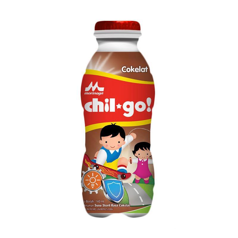 Morinaga Chil Go Susu Formula - Cokelat [140 mL]