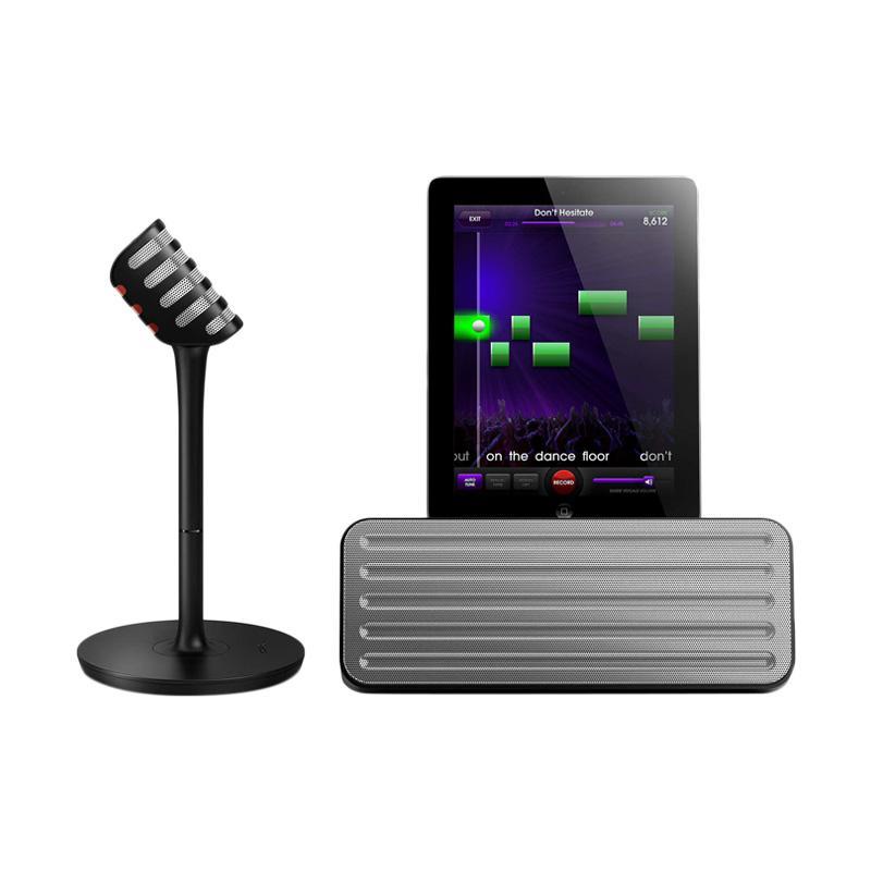 harga Philips AEA7100-17 StarMaker Wireless Bluetooth Portable Speaker and Wireless Karaoke Mic for iPad Blibli.com