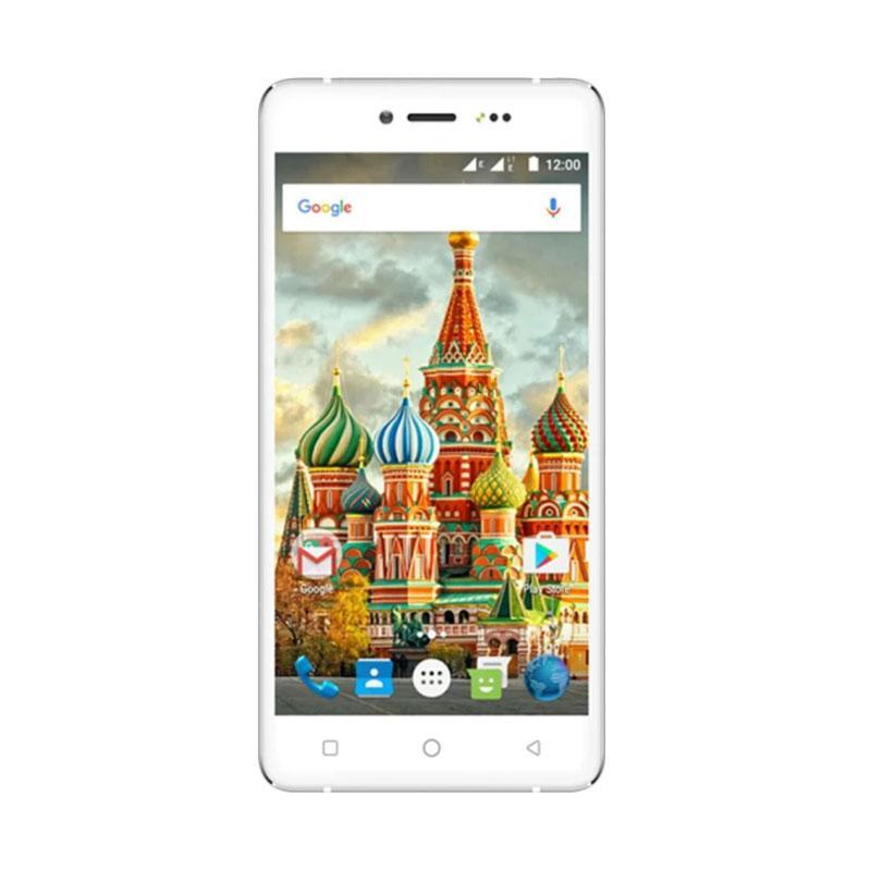 Evercoss U50C Winner Y Selfie Plus 4G LTE Smartphone - Putih [16GB/ 1GB]