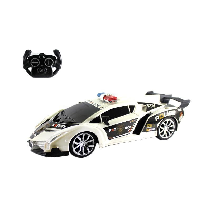 Enandem Superior Lamborghini Police Serises Mainan Remote Control