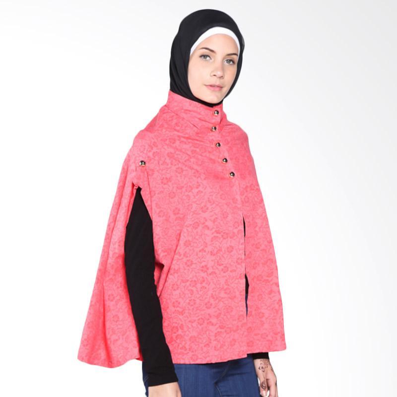 Rauza Rauza Cape Batik Outerwear - Pink