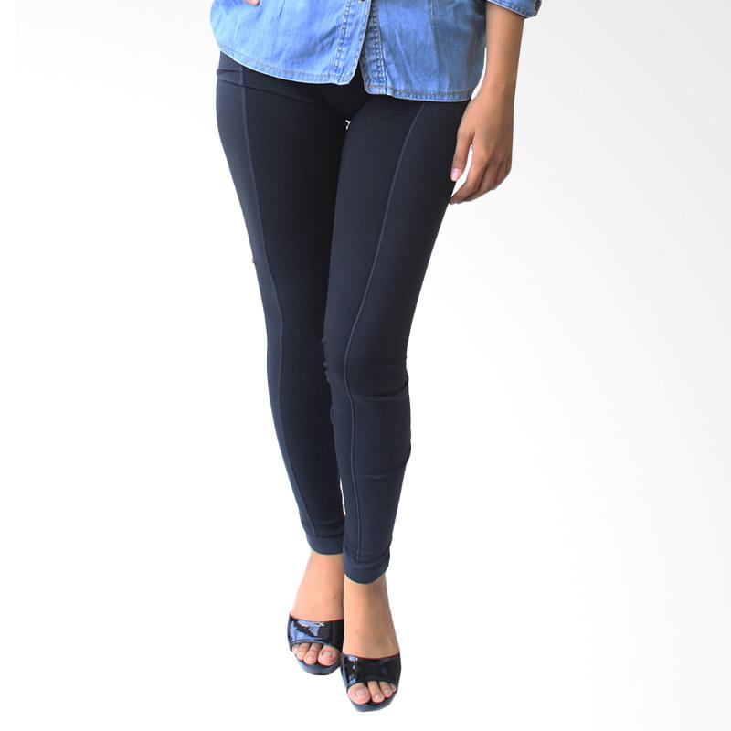 Aily 08 Celana Legging Wanita - Hitam