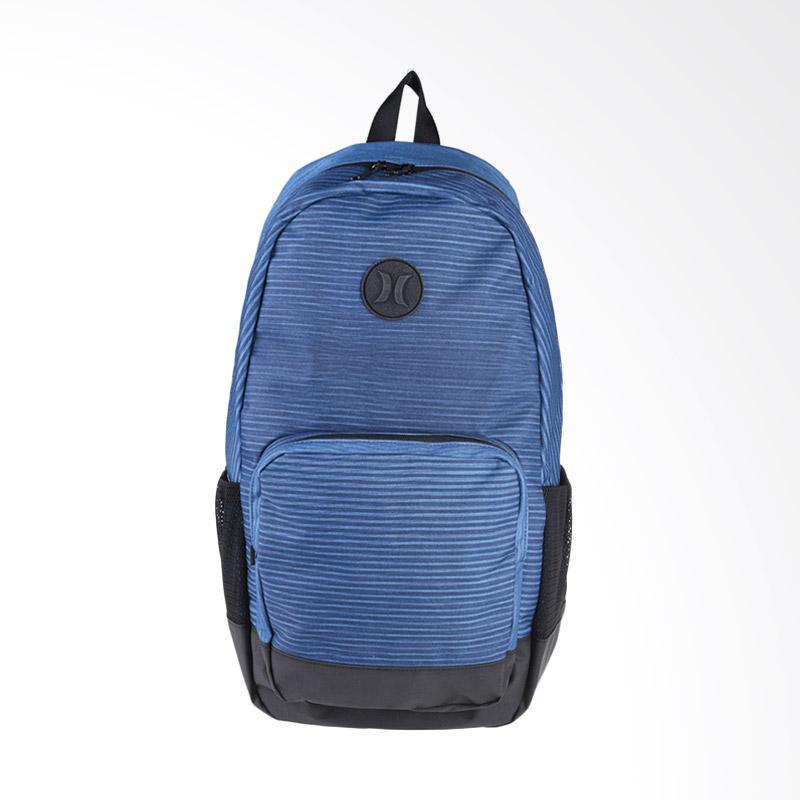 Hurley Renegade Printed Bag Tas Pria - Clorine Blue Black  ZQ050_412