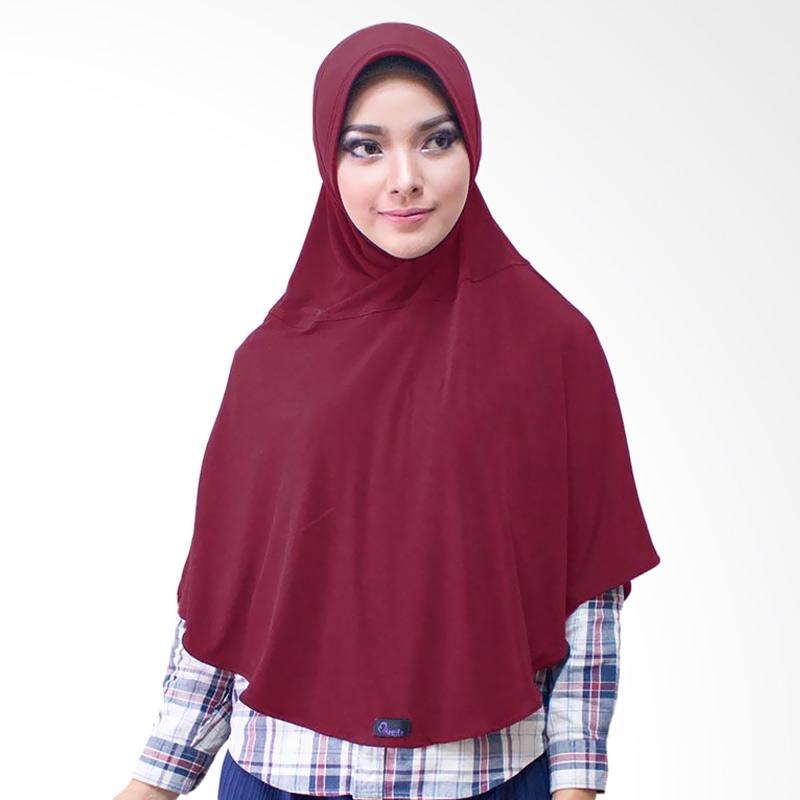 Milyarda Hijab Bergo M Jilbab Instan - Maroon
