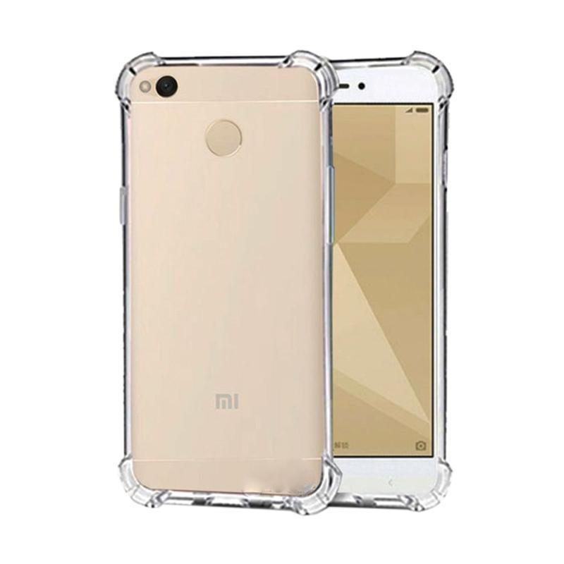 Anti Crack Anti Shock Casing for Xiaomi Redmi 4X - Clear