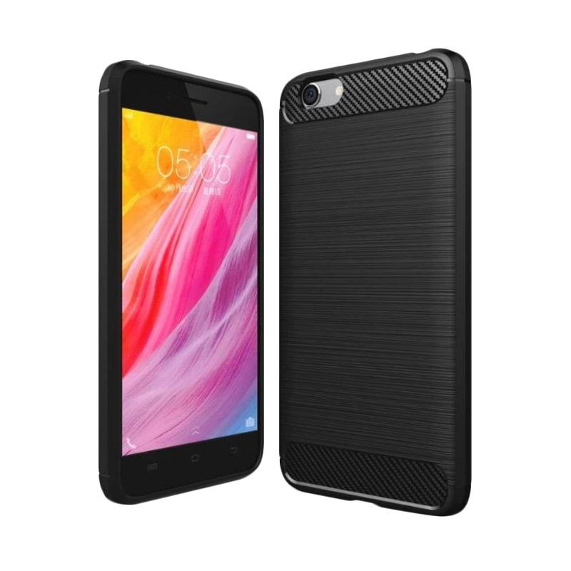 iPaky Carbon Rugged Hybrid Casing for VIVO Y53 - Black