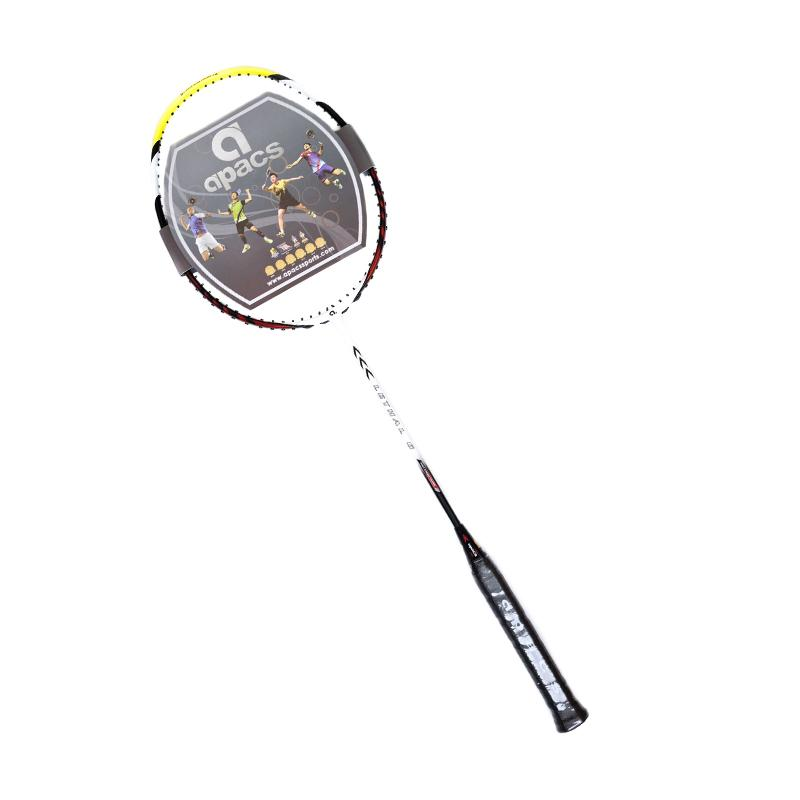 Apacs Lethal 6 Raket Badminton - Maroon White