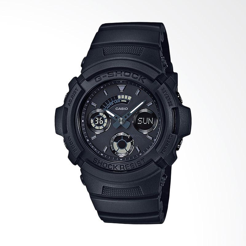 CASIO Jam Tangan Pria - Black AW-591BB-1ADR