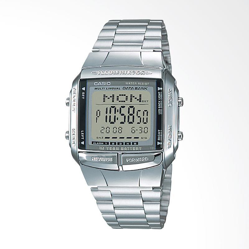 Casio Jam Tangan Pria - Silver DB-360-1ADF