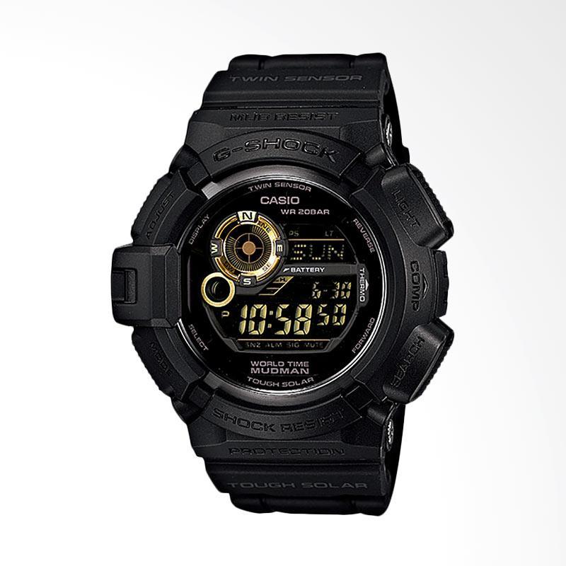 CASIO Jam Tangan Pria - Black Gold G-9300GB-1DR