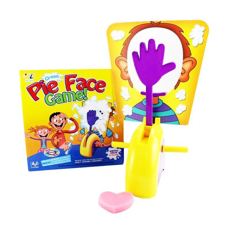 harga TSH Mainan Anak Seru PIE FACE GAME / Running Man - Multi Colour Blibli.