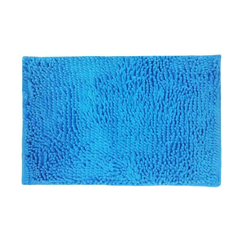 OEM Microfiber Antislip Keset Cendol - Biru Muda
