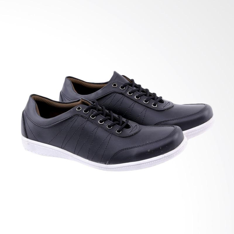 Garucci Sneakers Shoes - Black GSY 1256