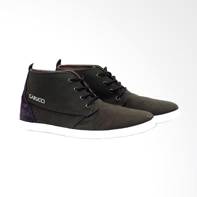 Garucci Sneakers Shoes - Olive TMI 1156