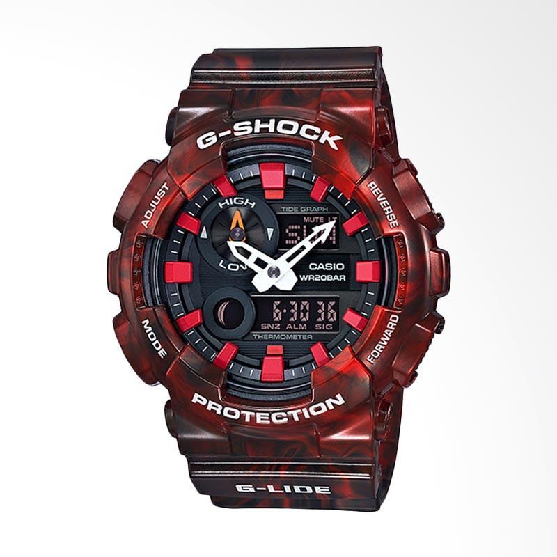 CASIO G-Shock G-LIDE Jam Tangan Pria - Maroon GAX-100MB-4ADR