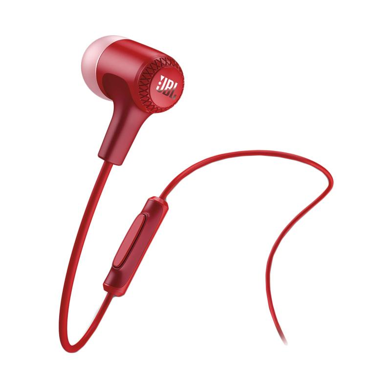 JBL E15 Earphone - Red