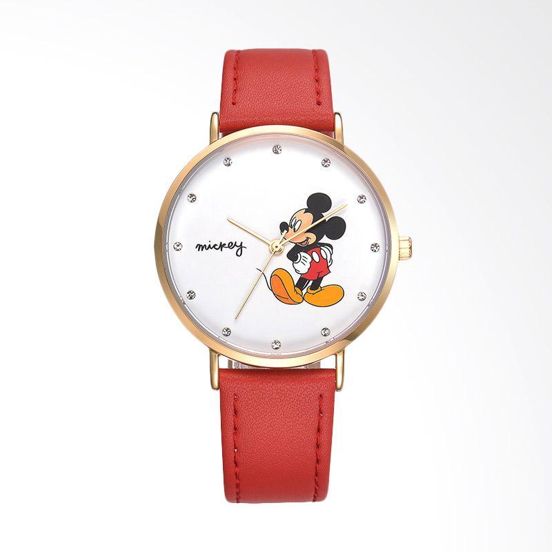 Disney MS11089-R Mickey Jam Tangan Wanita - Merah