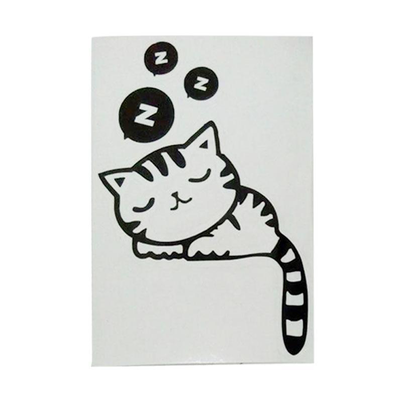 OEM Motif Cat Stiker Dekorasi Saklar Lampu