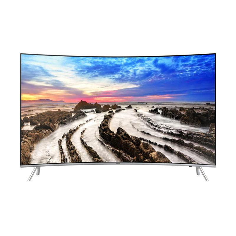 Samsung UA65MU8000KPXD Premium UHD 4K Curved Smart TV LED [65 Inch/ Medan]