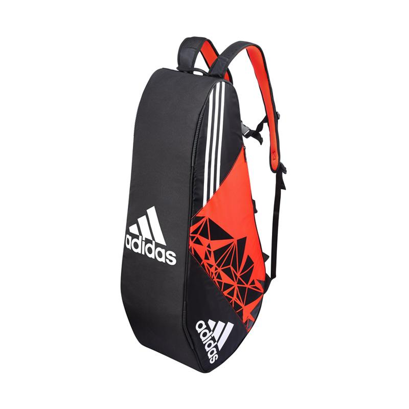 adidas Wutch P7 8 Thermo Bag Tas Badminton - Orange Black