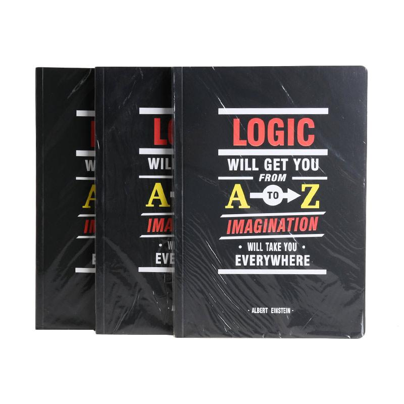 Karisma Exclusive Set Buku Tulis Logic Will Get You From A To Z [A5/80 g/3 Pcs] - 746503