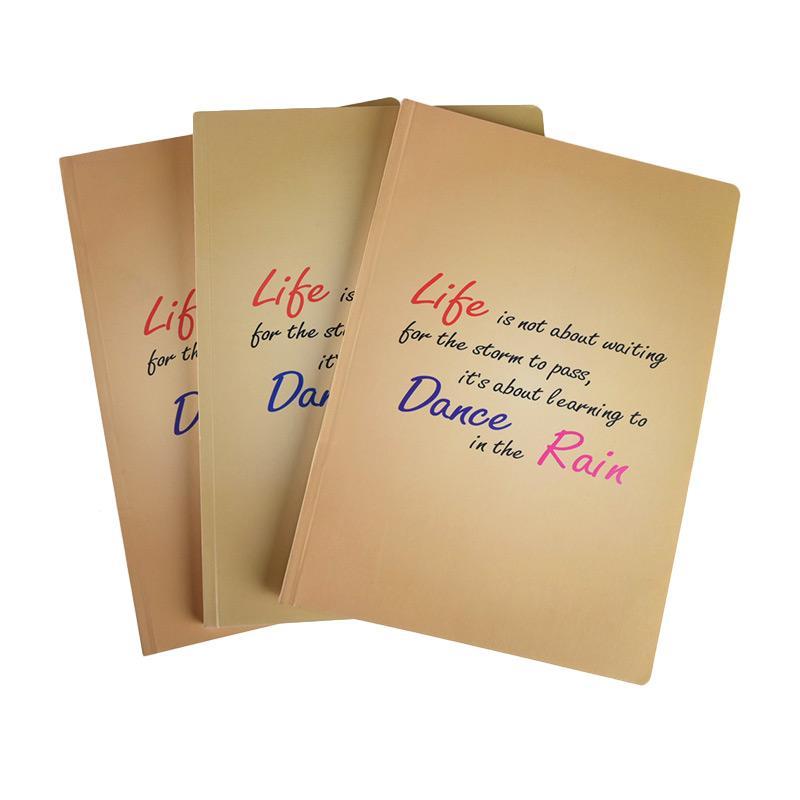 Karisma Exclusive Life Is Not About Waiting Buku Tulis [3 Pcs/ B5/ 748610]