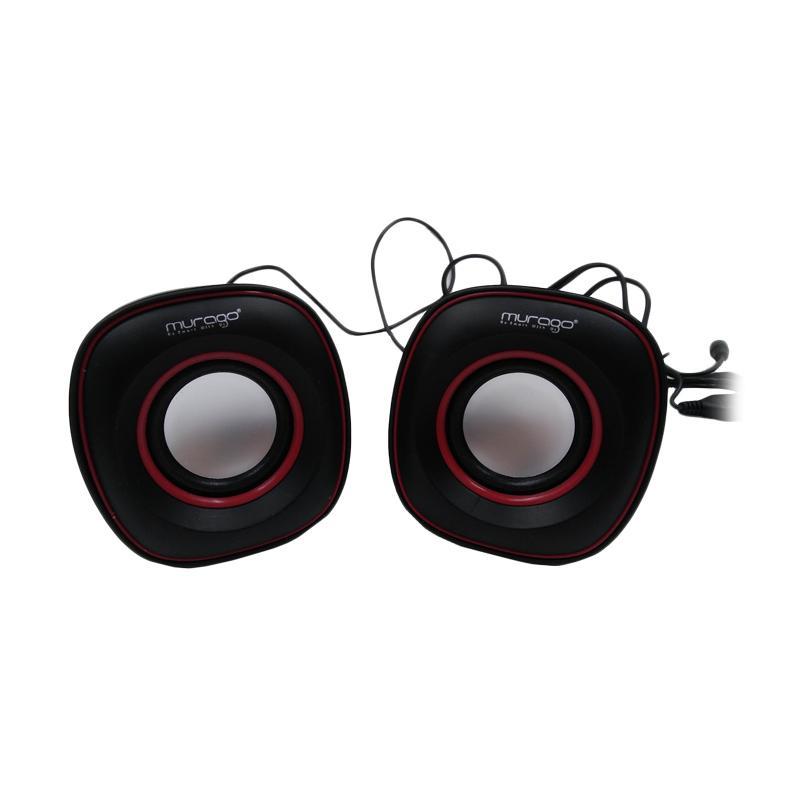 Murago G-105 Mini USB Speaker - Merah