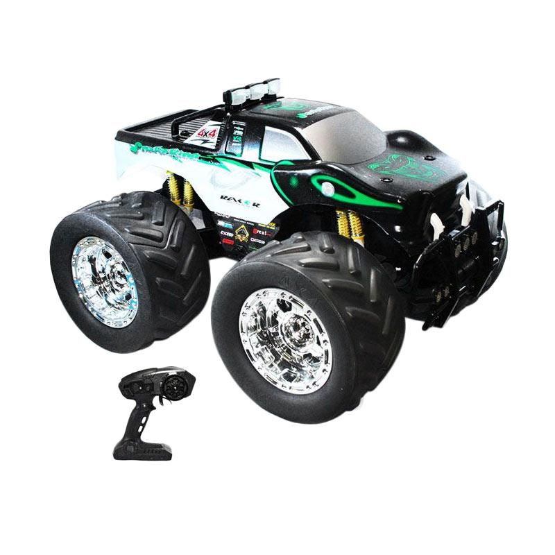 harga Olday Toys RC XL Big Wheel Jeep Truck - EV-E618151-Hitam Mainan Anak Blibli.com