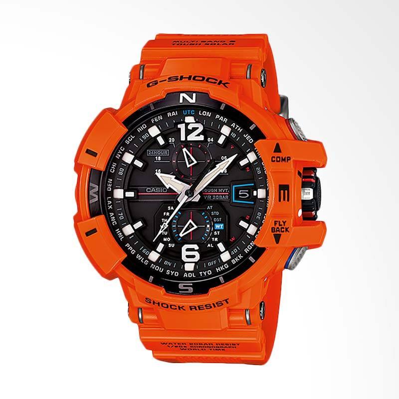 CASIO G-Shock Gravitymaster Jam Tangan Pria - Orange GW-A1100R-4ADR
