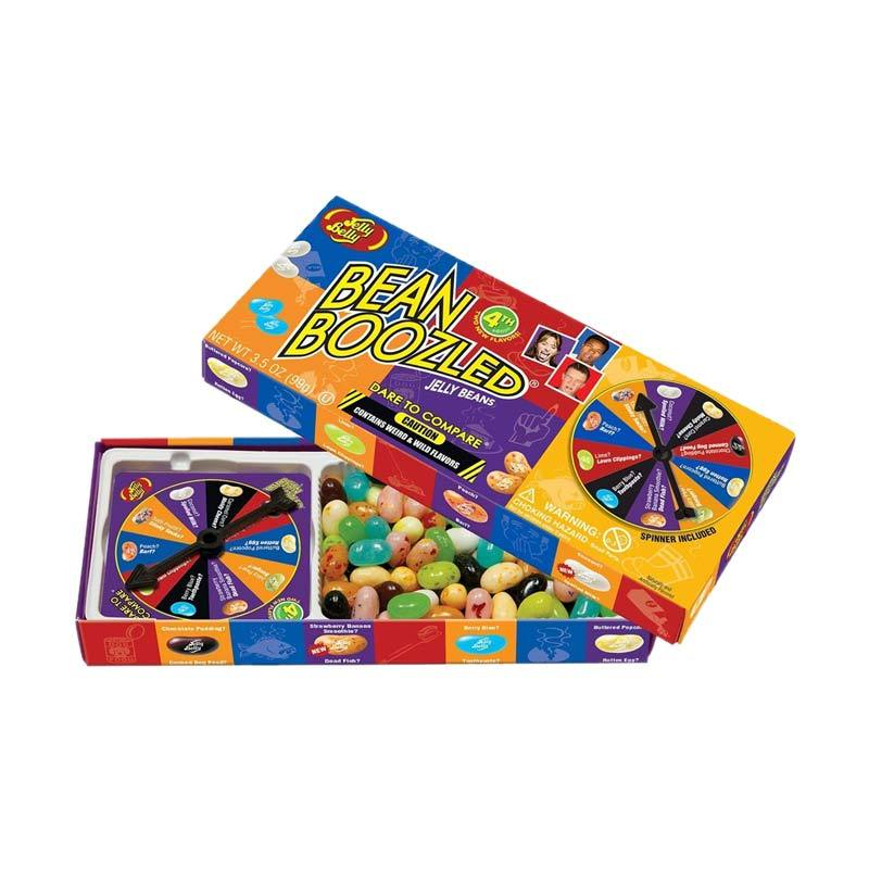 Jelly Belly 4th Edition Beanboozled Jelly Beans Spinner Gift Box Permen [3.5 Oz]