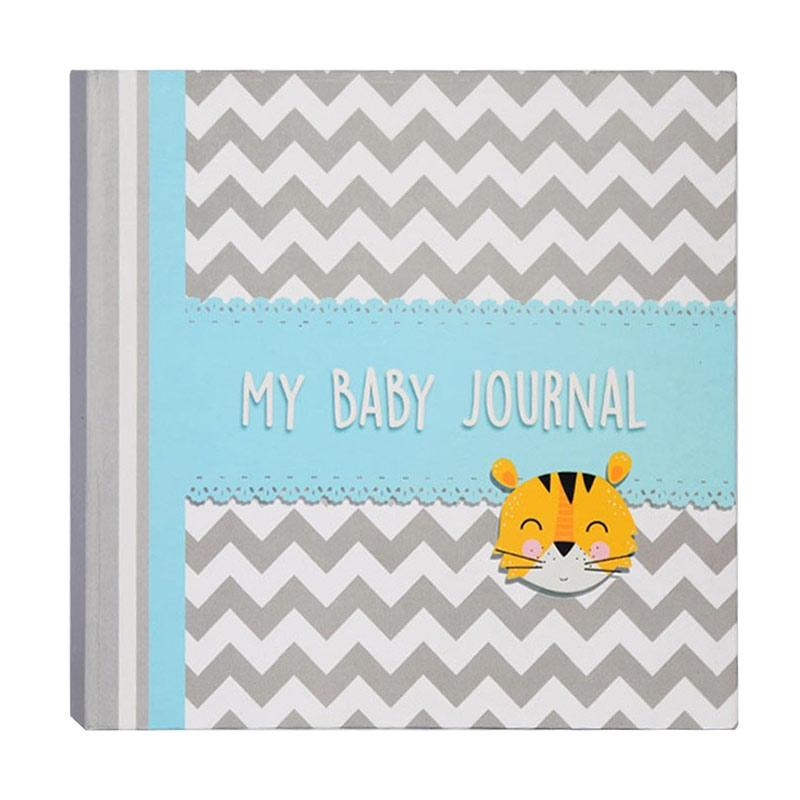 Hugmemom My Baby Journal Tiger Lily