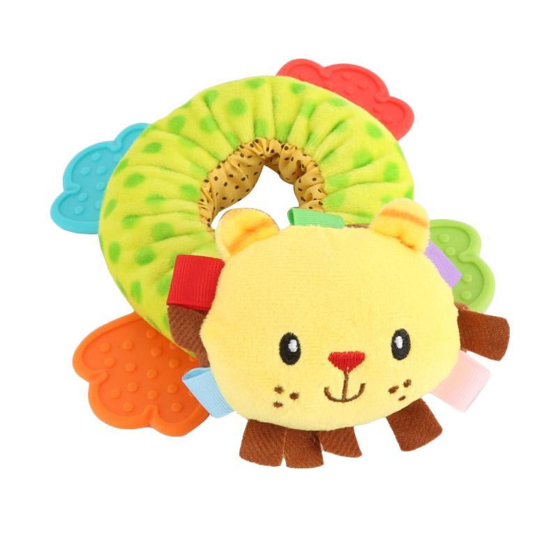 Chloebaby S280 Shop Donut Lion Rattle Mainan Edukasi Bayi