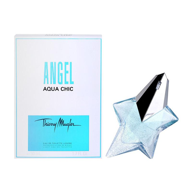 Thierry Mugler Angel Aqua Chic for Women EDT Parfum Wanita [50 mL]