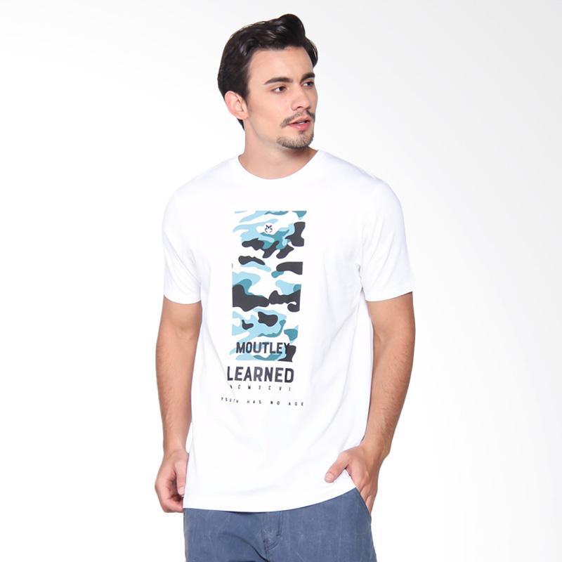 Moutley 1609 Tshirt Pria - White 316091712