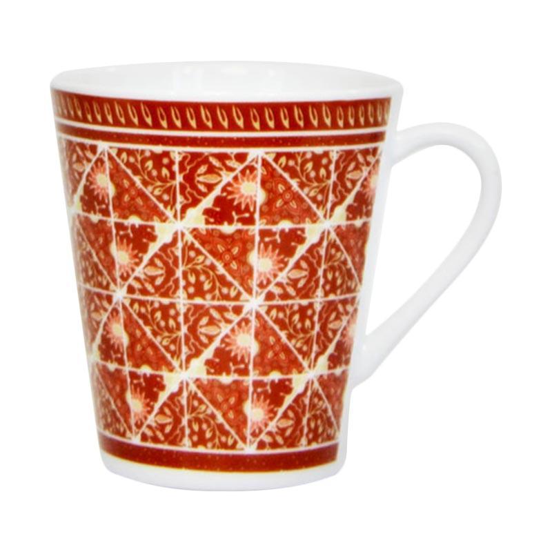 Jual Carnivale Bursa Dapur Batik Mix Mug Brown 370 Ml Online Harga Kualitas Terjamin Blibli