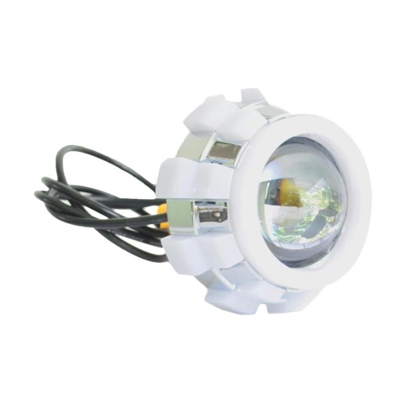 harga Raja Motor V10 4  Aksesoris Motor Lampu Depan Projector LED - Merah Biru [DOH9313-4Warna-Merah-Biru-Merah-Biru] Blibli.com