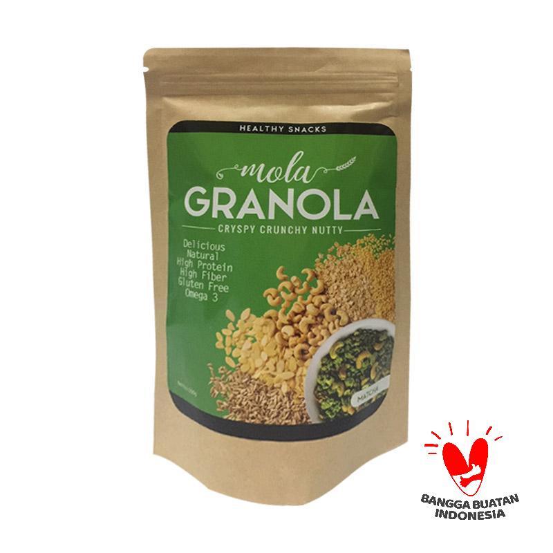 Jual Mola Granola Healthy Snacks Rasa Matcha Online - Harga & Kualitas Terjamin | Blibli.