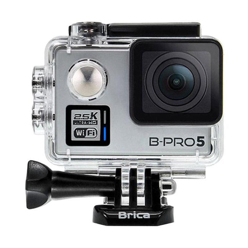 Brica B-PRO 5 Alpha Plus Version 2 AP2 Combo Brica Deluxe Action Camera - Silver