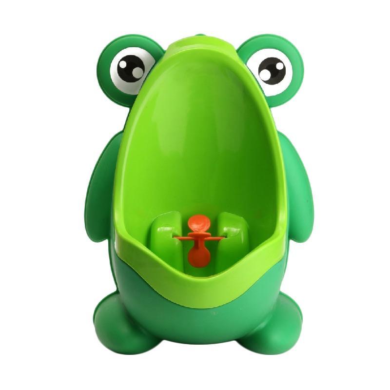 Wonderland Pee Trainer Frog Toilet Training - Green