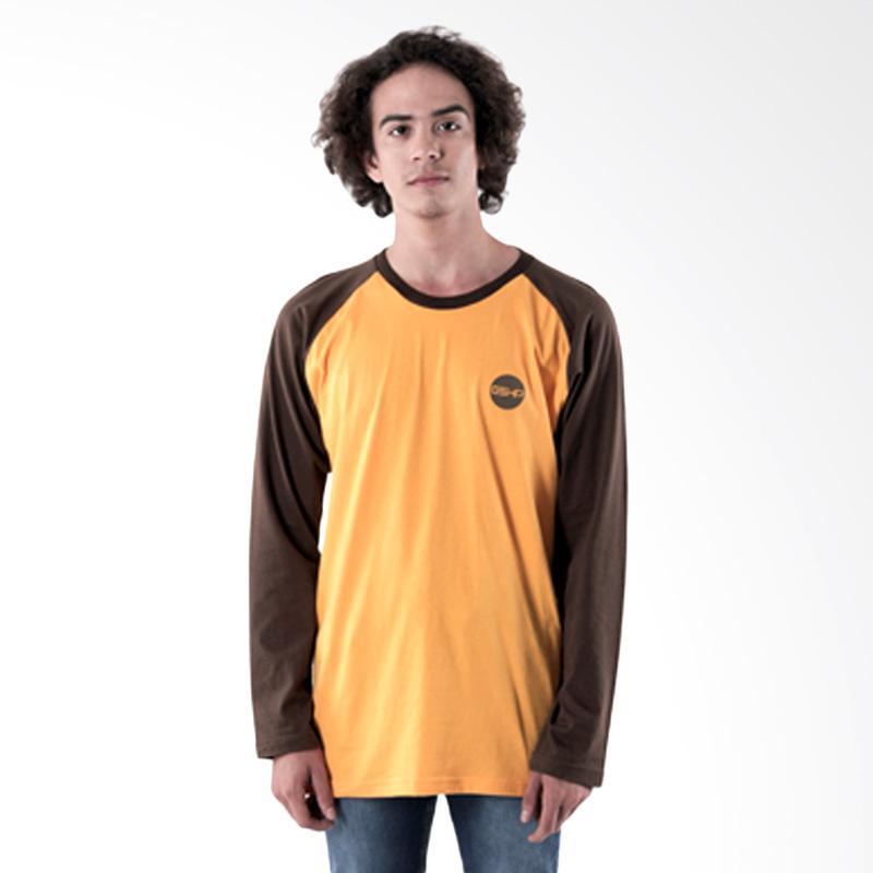 Gshop Kenan 0763 Long Sleeve Women T-Shirt - Yellow