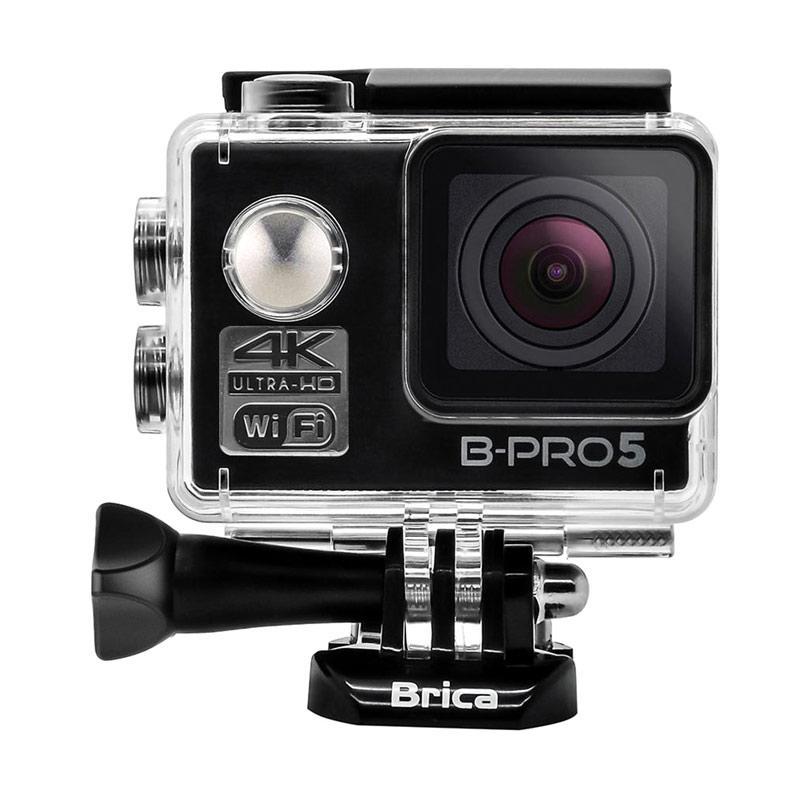 Brica B-PRO 5 Alpha Edition Mark II AE2 Combo Deluxe B Paket Action Camera - Hitam