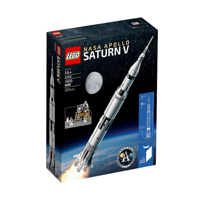 Saturn launch vehicle Building Blocks Bricks Toys  all new 1969pcs no box